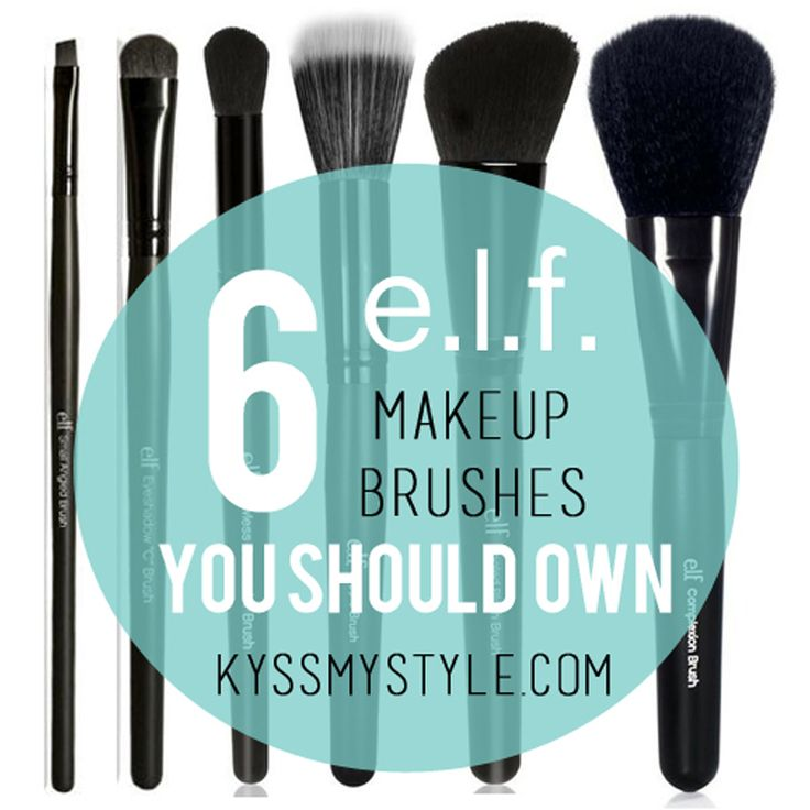 Six e.l.f. Makeup Brushes You Should Own | Kyss My Style