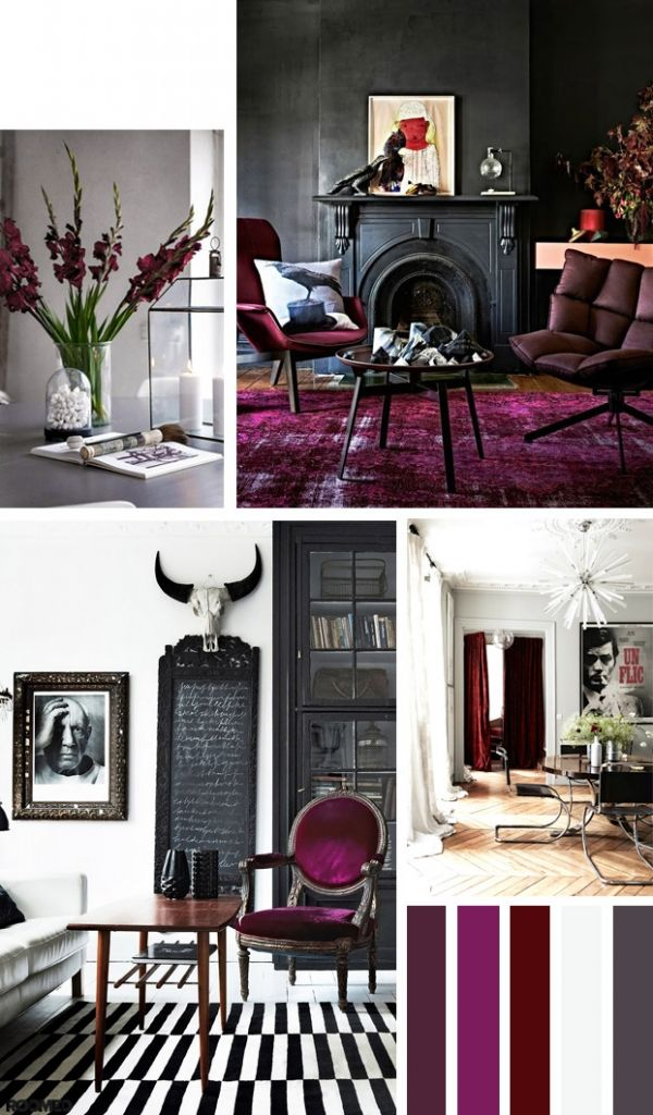 Colorboost: create some luxury with burgundy and plum - Roomed