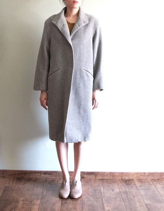 Oversize minimalist cashmere wool coat-reserved listing for