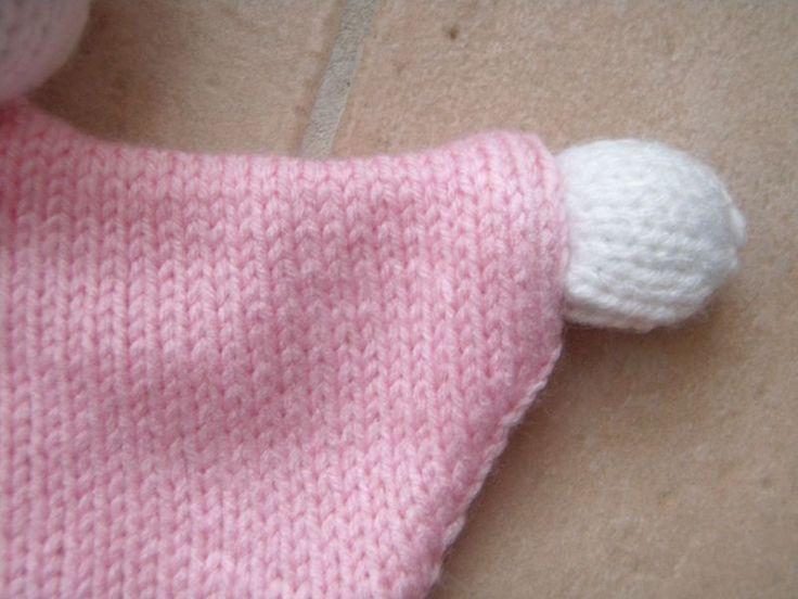 Tuto d'un Doudou Lutin au tricot
