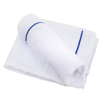 Cotton Premium Terry Towels, 3ct, White