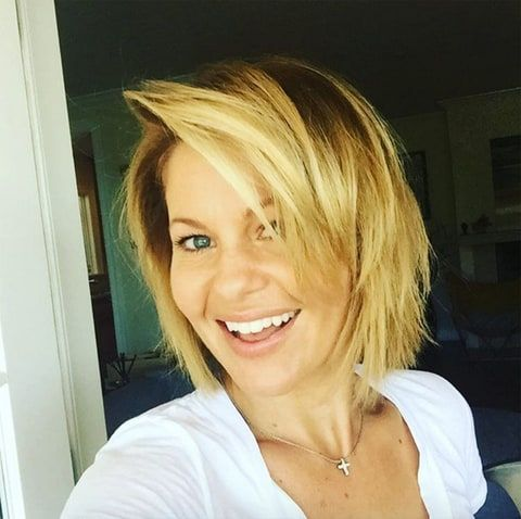 Candace Cameron Bure Got a Total Hair Makeover!