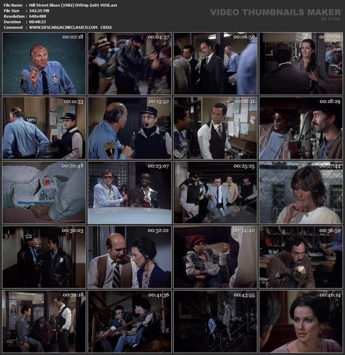 Serie, Canción Triste de Hill Street 2ª temporada