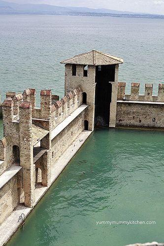 Sirmione Castle by marina_delio, via Flickr