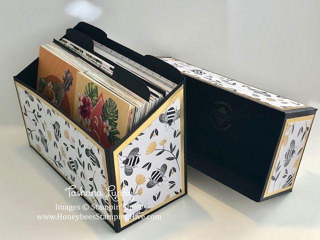 Paper Storage Box Craft Storage En 2020 Almacenamiento De Papel Caja De Almacenamiento Huerto En Casa