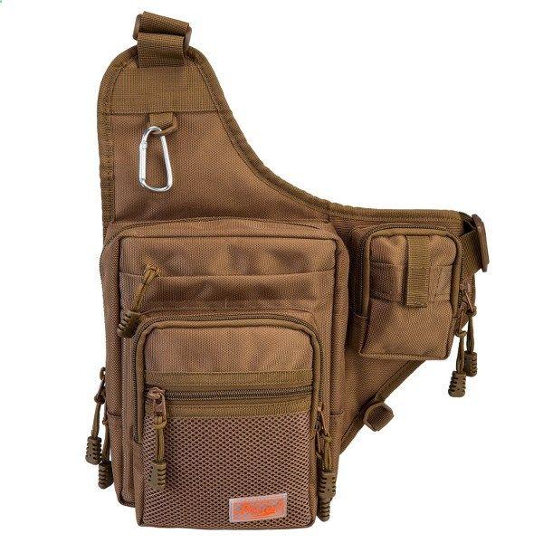 Piscifun Sports Shoulder Bag Fishing Tackle Bag Review