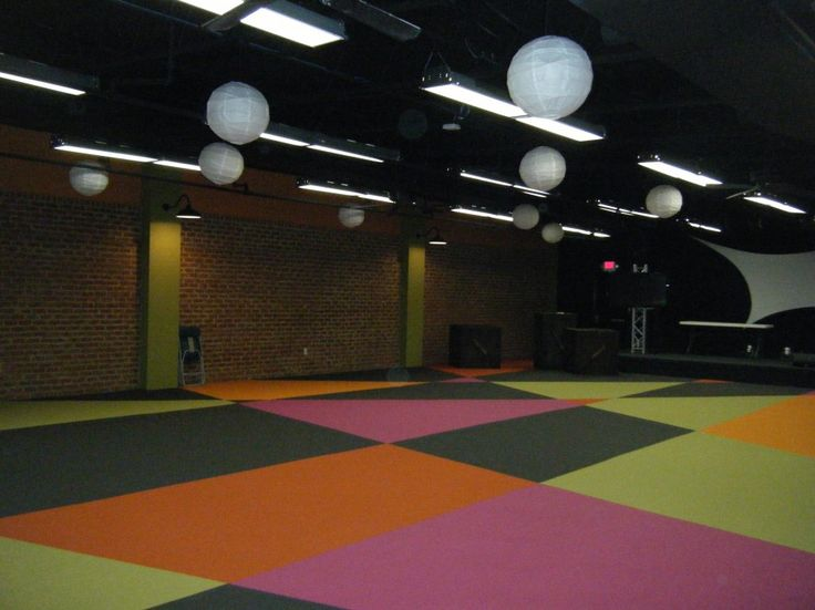 Interior Delightful Church Youth Group Room Ideas With White Balls Pendant Lamps Also Colorful Carpets At Large Design Impass