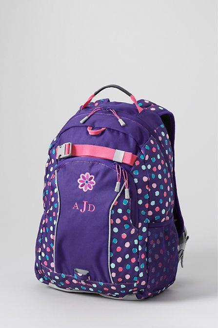 Print ClassMate® Medium Backpack from Lands' End