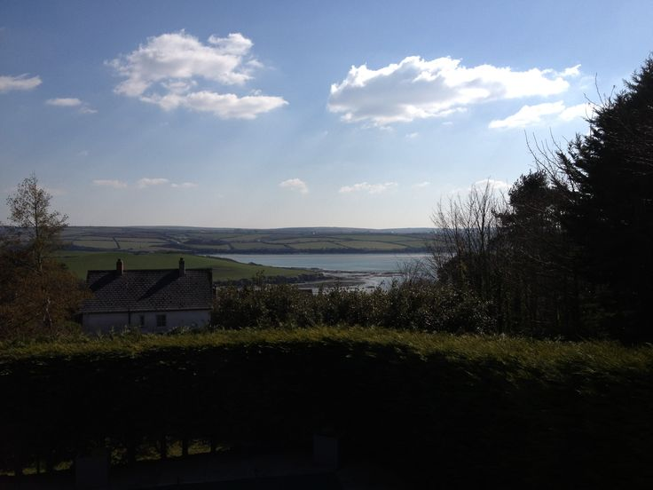The view from one of our Spas in Cornwall, this is the St Enodoc Hotel.  http://www.riverspa.co.uk/spa-in-rock-north-cornwall.html