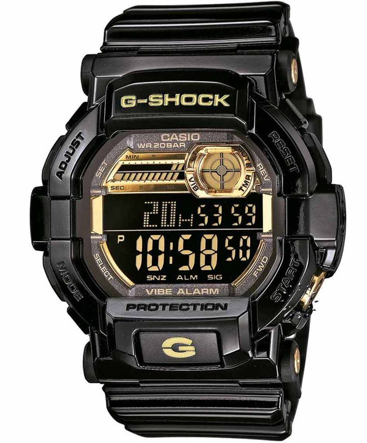 CASIO G-SHOCK Digital Black Rubber Strap Η τιμή μας: 161€ http://www.oroloi.gr/product_info.php?products_id=35112