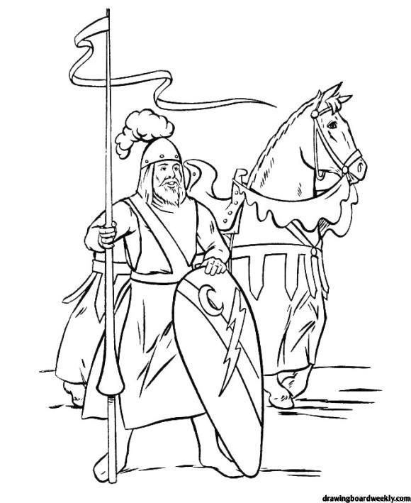 Coloring Page Knights Free Coloring Pages Coloring Books Coloring Book Pages