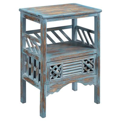 Coast to Coast Imports LLC Distressed End Table https://www.jossandmain.com/EC%3A-End-Tables-Cleo-End-Table~CTCI2689~E20763.html?category_id=166&class_id_list%5B0%5D=442&sort=cpr