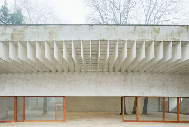 Image 2 of 30 from gallery of AD Classics: Nordic Pavilion in Venice / Sverre Fehn. Photograph by Åke E:son Lindman