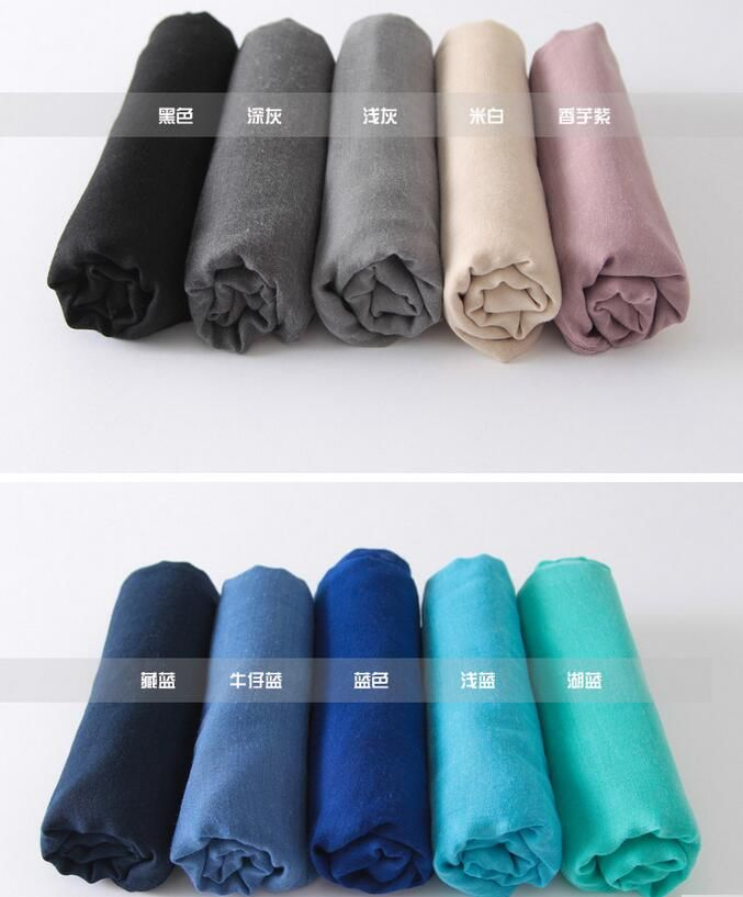 180*140 Long Female Scarves 24 colors JERSEY scarf jersey shawl cotton muslim hijab