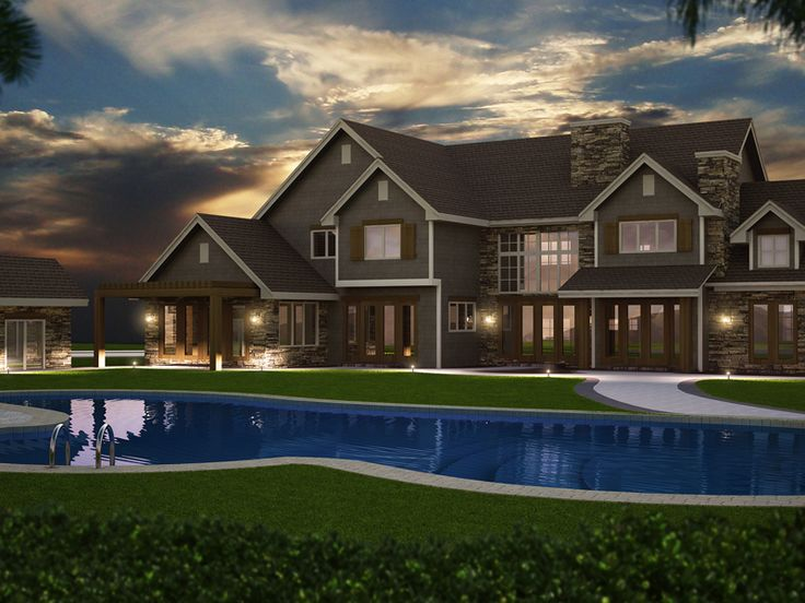 216 best Home Plans with Pools images on Pinterest House plans and