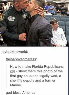 why bless america when they took so long to legalize gay marriage?????