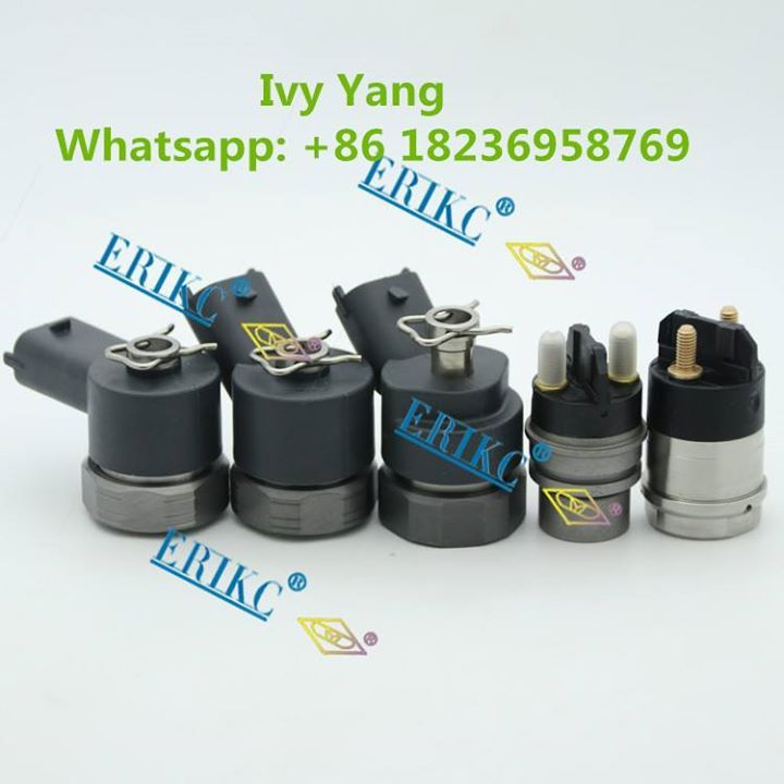 Bosch Solenoid Valve F00RJ02697 F00RJ02703 F00RJ00395 F00VC30318 F00VC30319 Common Rail Electromagnetic Valve for Diesel Repair Center; In stock quick delivery. Welcome add whatsapp 86 18236958769 to inquiry now. Contact: Ivy Email: crdi@foxmail.com