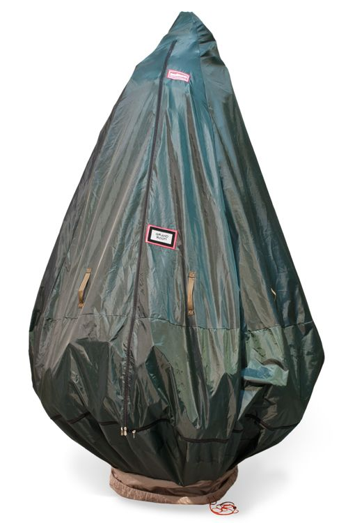 Our Upright Christmas Tree Storage Bag With Stand is the easiest way to store your Christmas tree. The tree can be stored fully decorated and wheeled away.