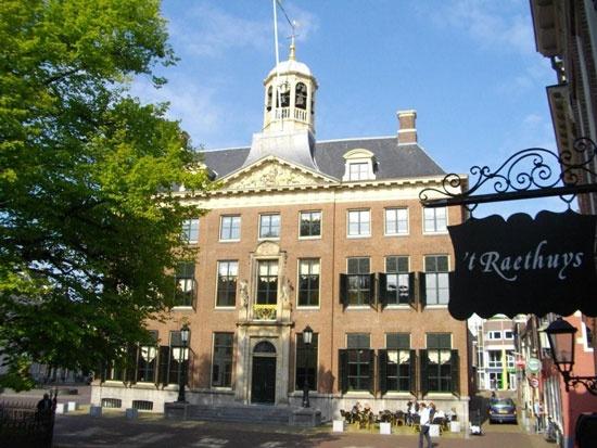 Stadhuis (City Hall) Leeuwarden (Holland)
