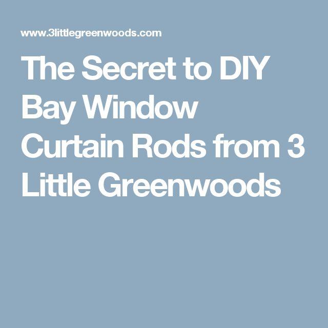 17 Best ideas about Diy Bay Window Curtains on Pinterest   Bay ...
