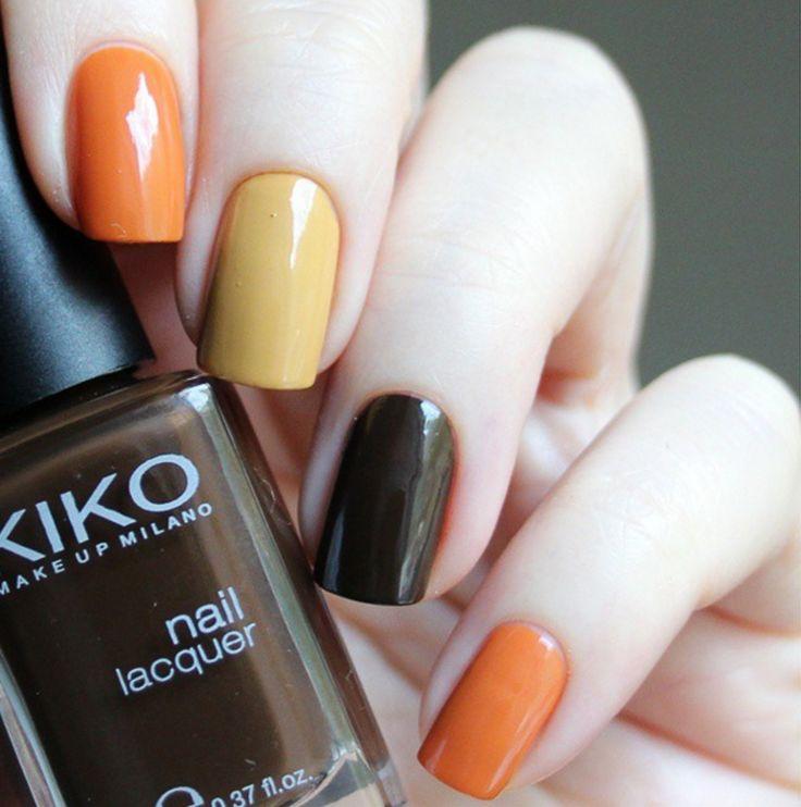 nailart, shellac, gel-polish, nailtrio, treecolors, tree color nail art, #shellac, #nailart, #nails, #gelpolish, trio colors, trionail