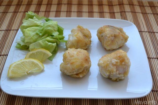 I bocconcini di rana pescatrice con limone e zenzero sono una delle ricette che trovate sul mio libro