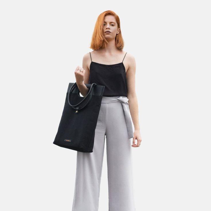 Shopper Tote Ystad Black