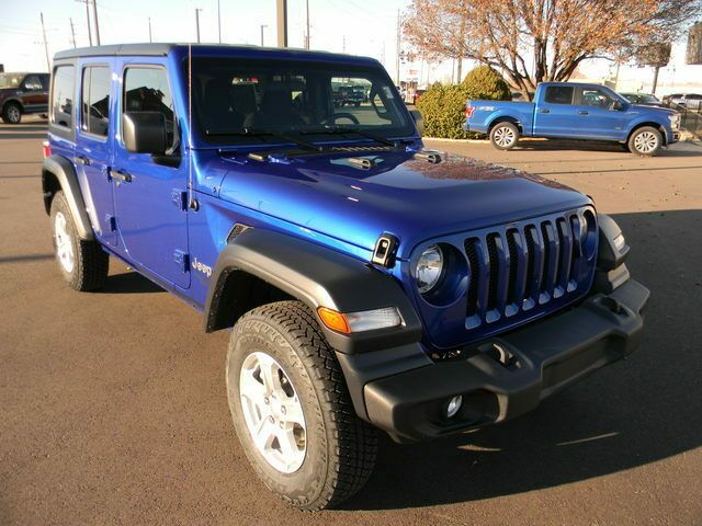 2020 Jeep Wrangler Sport S 4x4 Ocean Blue Metallic Clearcoat Jeep Wrangler Unlimited With 10 Miles Available No In 2020 Jeep Wrangler For Sale Jeep Wrangler Jeep
