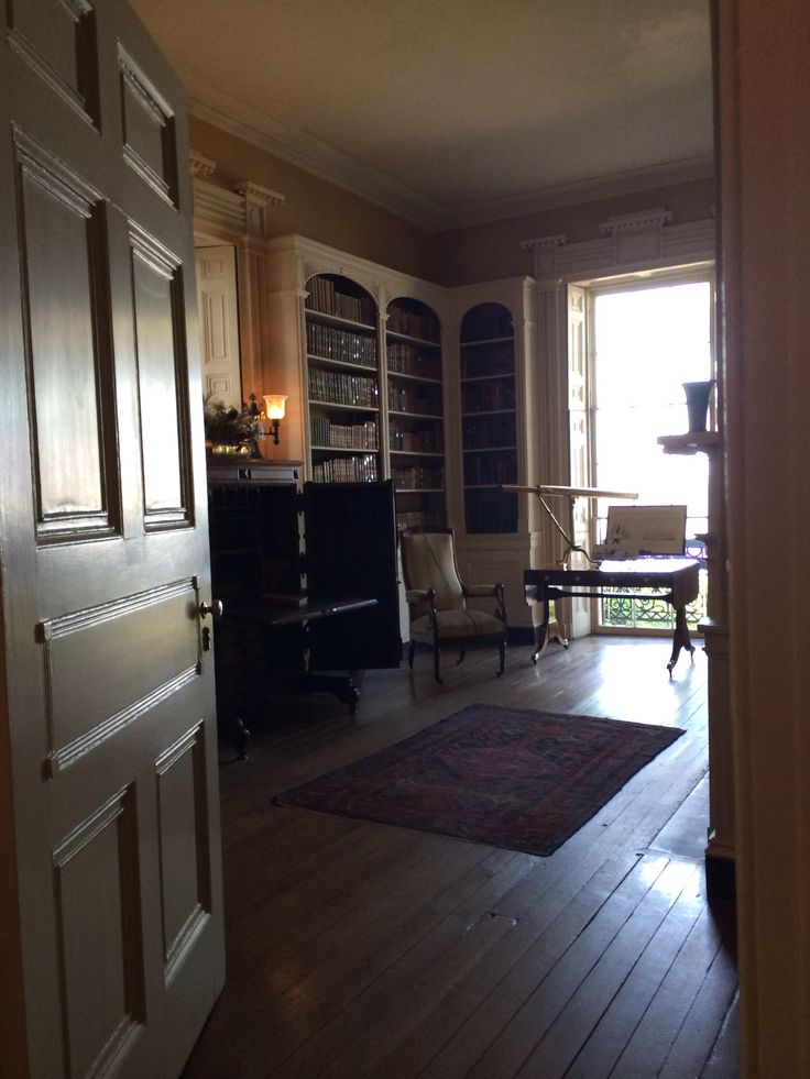 Edmonston Alston House Charleston SC Library With A View Of The Bay