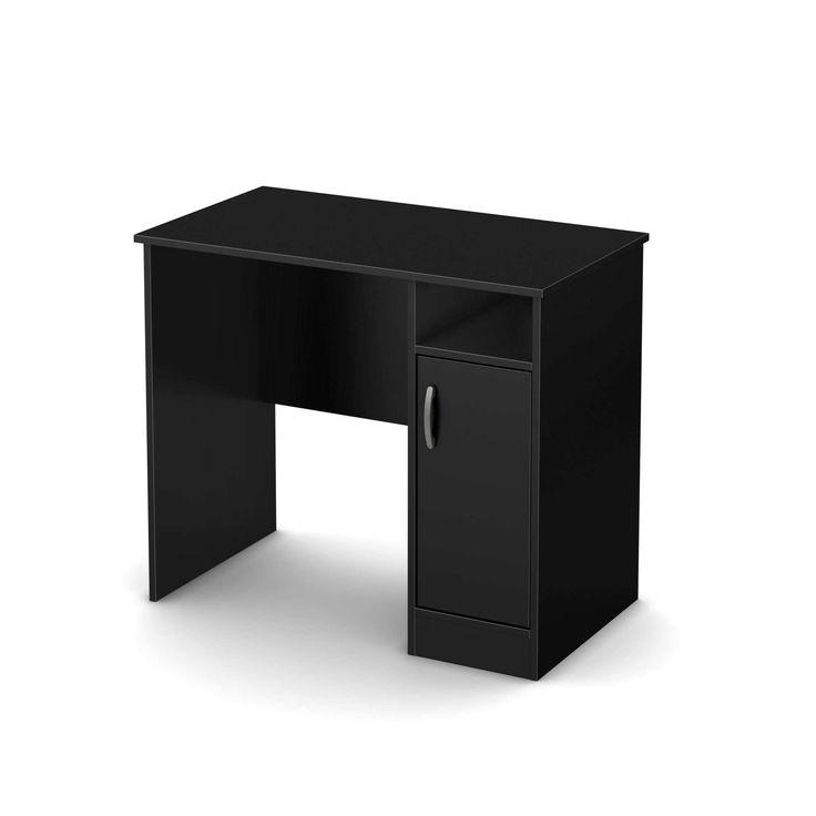 99+ Black Study Desk - Luxury Home Office Furniture Check more at http://www.sewcraftyjenn.com/black-study-desk/
