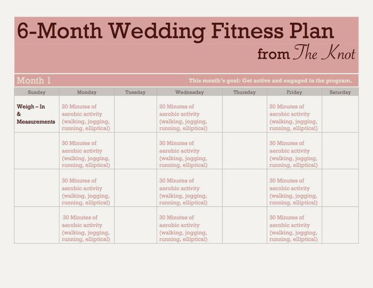 87 best Wedding beauty and fitness prep images on Pinterest ...