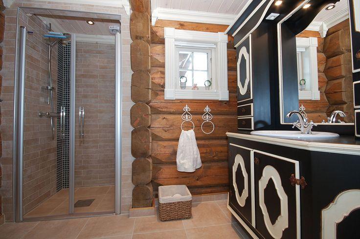 Дом и лафета , построен в Норвегии при совместном сотрудничестве с TRADISJONSLAFT AS