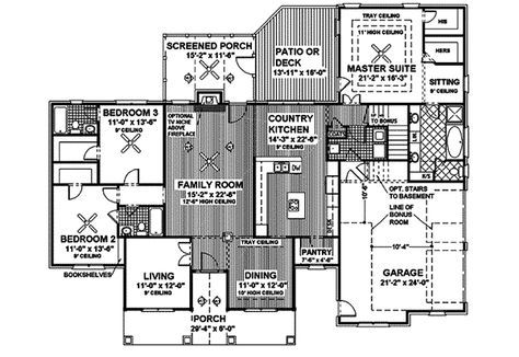 Stellaville Traditional Home Plan 013D-0027   House Plans and More