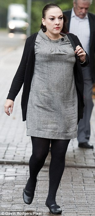 This rough alcoholic bint accused Justin Lee Collins of harrassment as talked shite. Sadly the jury believed this beast. JLC has to do 140hrs community service and pay £3,500 costs