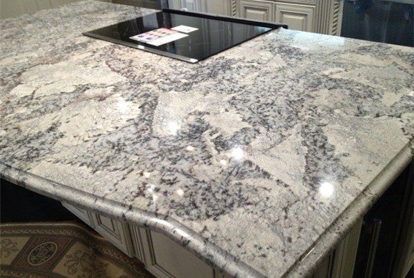Best Beautiful White Ice Granite Countertop Kitchen Design 400 x 300