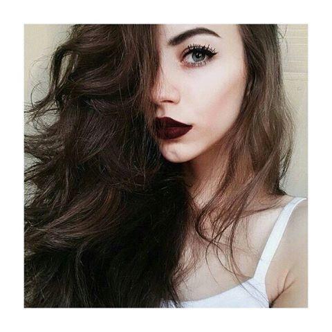 Selfie batom batom vermelho