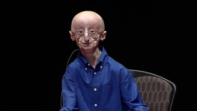 Sam Berns speaking at the TEDxMidAtlantic 2013 conference (screen capture: Youtube)