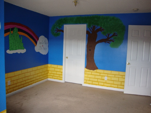 Wizard Of Oz Bedroom Le Tree And Emerald City