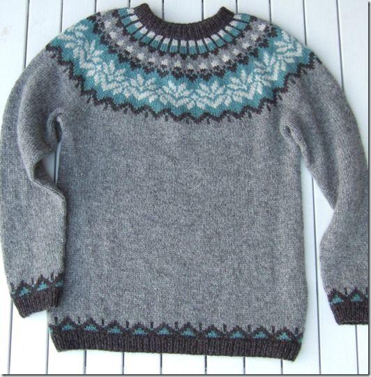 strikk genser fugler kk - Google-søk