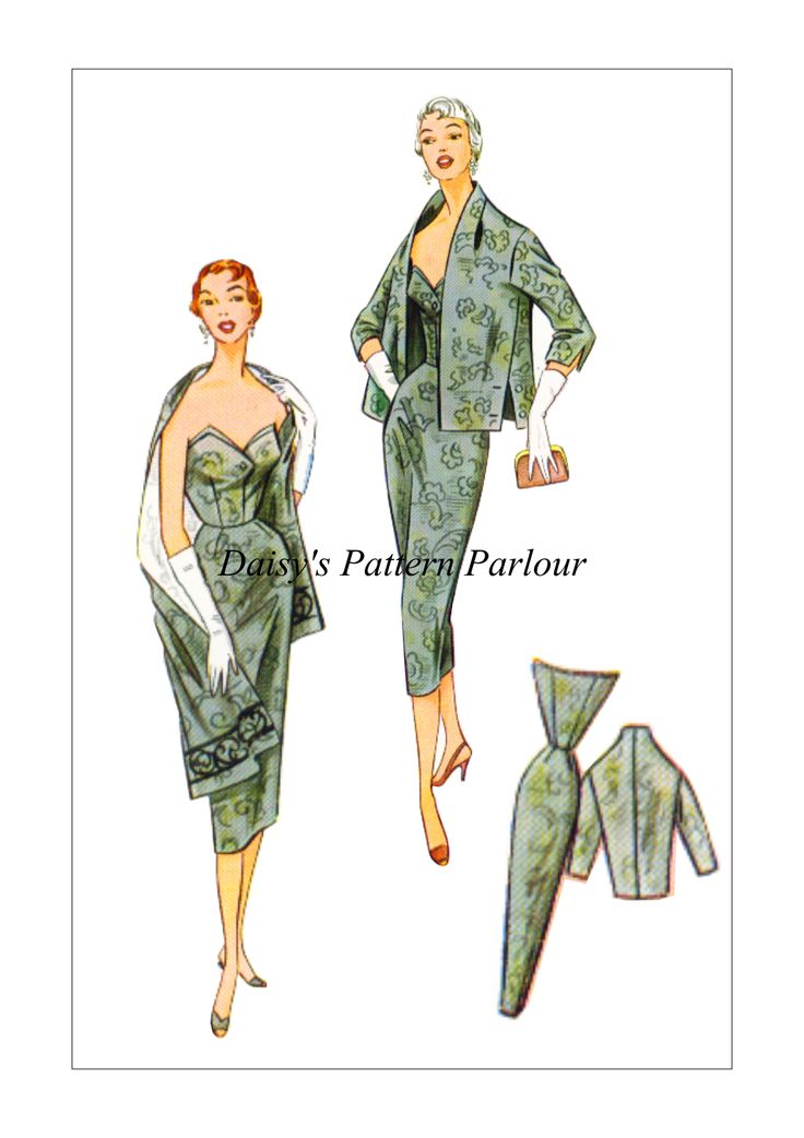 £14.99 Multi sized digitally remastered vintage sewing pattern. For high quality vintage sewing patterns from the 1930s to modern times see Daisy's Pattern Parlour shop - just follow the link!