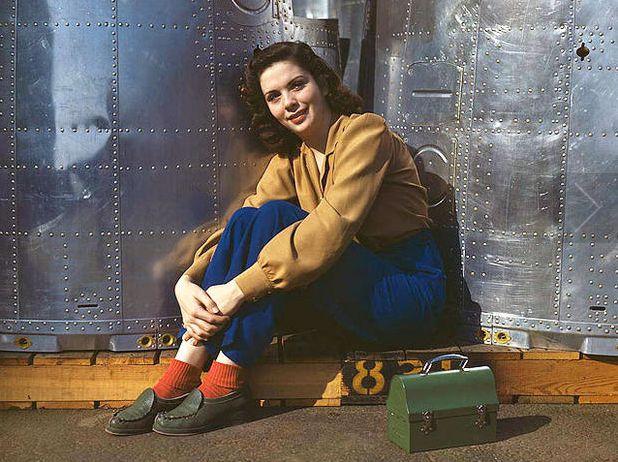 Rosie The Riveter Long Beach