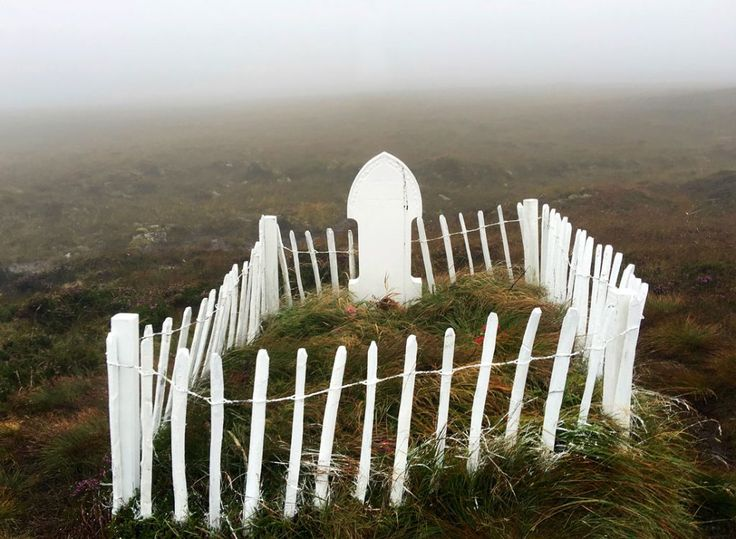 Betty Corrigall's grave is possibly the loneliest place in the world. As a young woman in the late 18th century, she was abandoned by her lover when he discovered she was pregnant.  Shunned by the local community and with no way out, Betty killed both herself and her unborn child. Their grave is located on wild and unconsecrated moorland on the Orcadian island of Hoy.