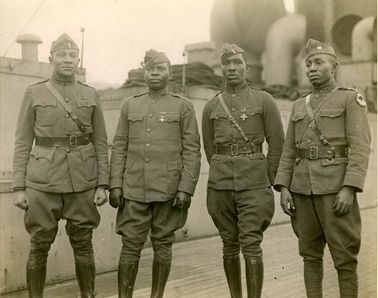 Soldiers from World War I. Library of Congress Prints and Photographs Division
