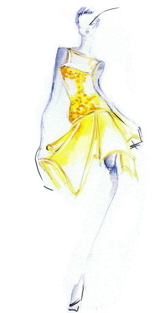 Angel Sanchez Spring 2013 Illustration by Kris Keys.