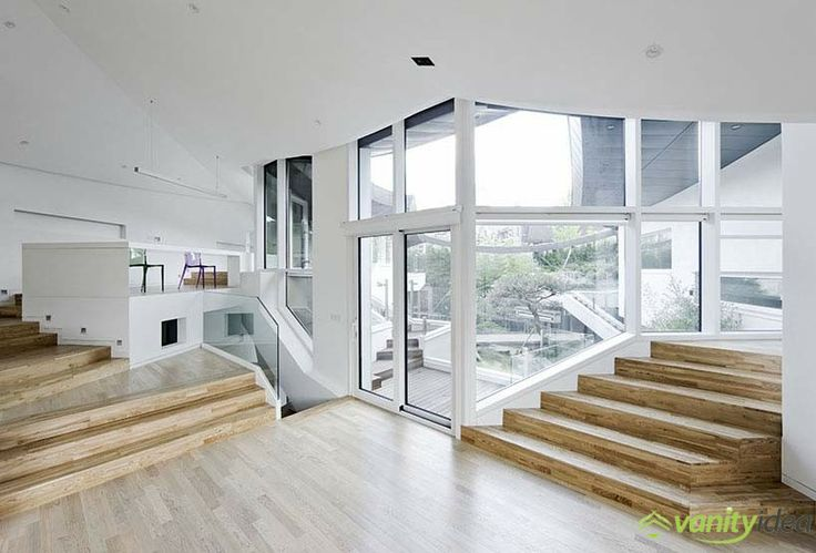 walls, windows, stairs design