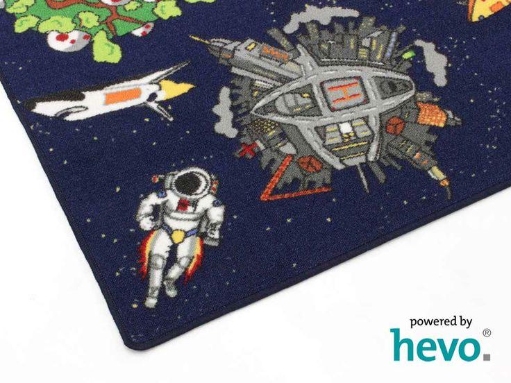 Weltraum Kinderteppich | Spielteppich