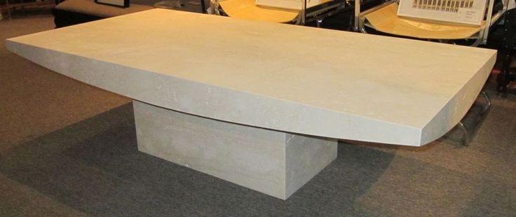 travertine coffee table design