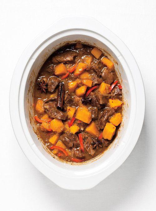 Boeuf asiatique à la mijoteuse Recettes | Ricardo - Pas de courges, plus de soya et une cuillère à soupe de hoisin.