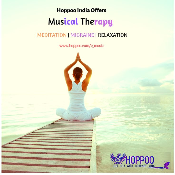 HoppooIndia offers musicaltherapy service because Music