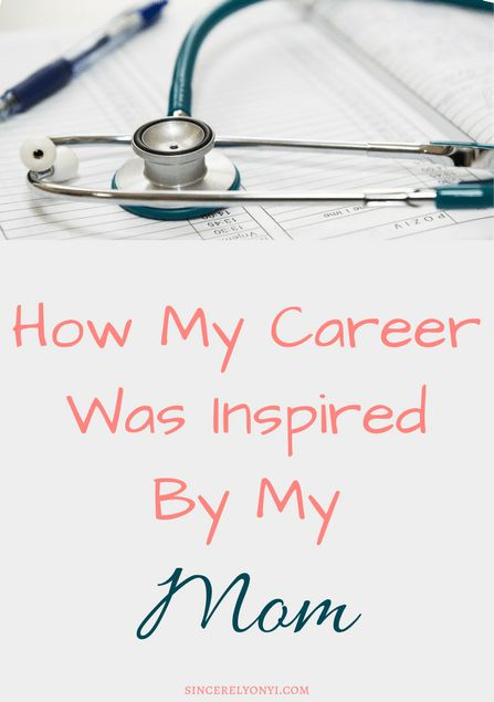 How My Mom inspired my career choice. She was my inspiration for becoming a physician assistant. I attempted to be a rebelious daughter but became just like her. mom knows best #workingmom #momlife #bossbabe #careerinspiration #medicine